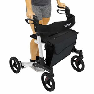 Vive Folding Rollator Walker